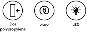 Caisson lumineux gamme textile pour l\'intérieur - Enseigne Boutique 92
