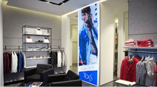 Enseigne lettrages lumineuses gamme textile pour l\'intérieur - Enseigne Magasin Paris