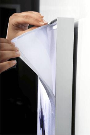 Enseigne lettrages lumineuses gamme textile pour l\'intérieur - Enseigne Magasin 92