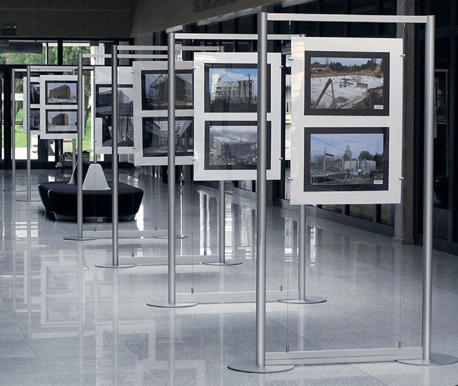 Mur Exposition - signalétique et décoration intérieure Paris étiq
