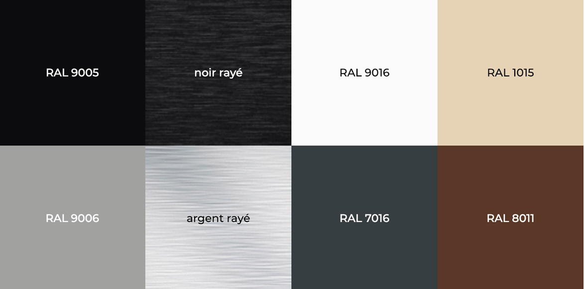 Couleurs plaque multicouche aluminium Enseigne lumineuse Paris étiq - Paris, 78, 92 et 94