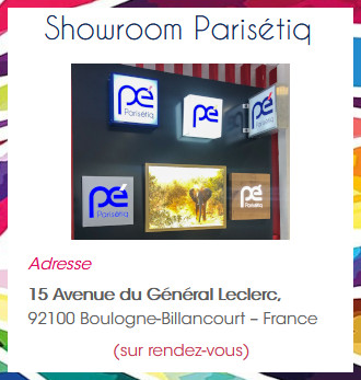 Parisétiq - Showroom Boulogne Billancourt
