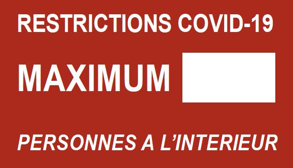 Parisétiq - Restriction nombre de personnes - Covid 19